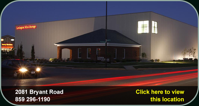 Lexington Mini-Storage has convenient locations near Fayette Mall and Hamburg.